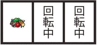G1優駿倶楽部2(ジーワンダービクラブ2)の出目(中段チェリー)