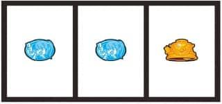 G1優駿倶楽部2(ジーワンダービクラブ2)の出目(弱チャンス目)