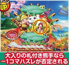 スーパー海物語 IN JAPAN 熊手リーチ 信頼度