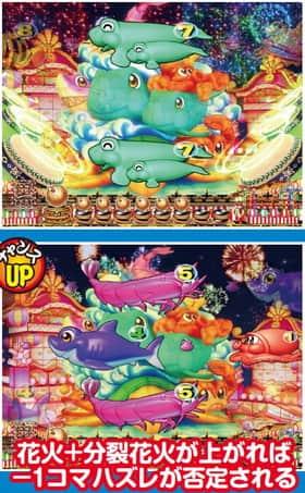 スーパー海物語 IN JAPAN 図柄神輿リーチ 信頼度