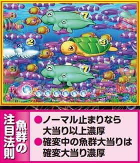 スーパー海物語 IN JAPAN 魚群 法則