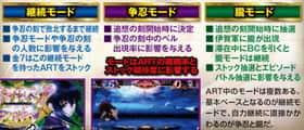 バジリスク~甲賀忍法帖~lllのART中モードの紹介