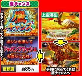 CR スーパー海物語 IN JAPAN金富士バージョン STAの鷹チャンス