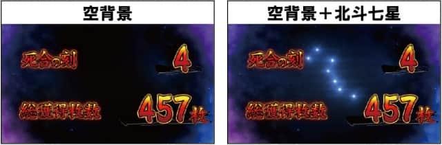 新台蒼天の拳3朋友のBB終了画面