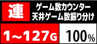 ハイドラ ゲーム数カウンター天井振り分け3