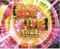 熱狂LIVE ZONEは1セット3G 毎ゲーム推しptを上乗せ! (ファンの色などで期待度示唆)