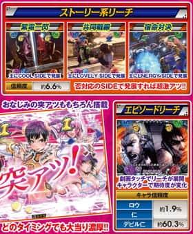 CR 鉄拳2 -闘神ver-のストーリー系リーチ、エピソードリーチの紹介