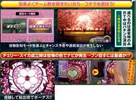 めぞん一刻 桜の下での役物告知モードの紹介