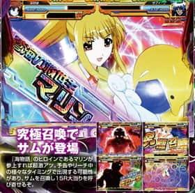 魔法少女リリカルなのはの魔法戦闘モード中の15R&勝利濃厚アクションの紹介