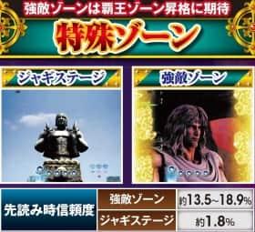 北斗の拳7転生の特殊ゾーン・先読み時信頼度