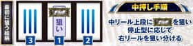 A-SLOT北斗の拳 将の中押し手順の紹介