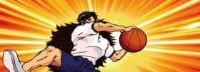 番長3の対決中の演出(バスケットボール)