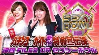 【CRセクシーボウル】パチンコ必勝ガイド新台特命宣伝課 調査FILE2